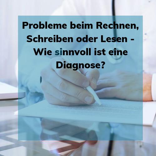 Diagnostik - ja oder nein?
