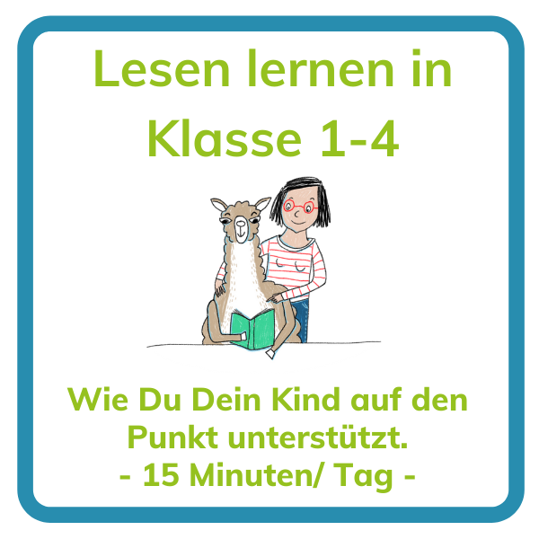 Mit Kindern Lesen lernen